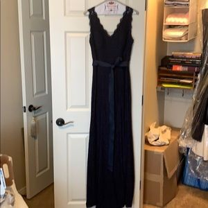 EVENING Gown in Navy